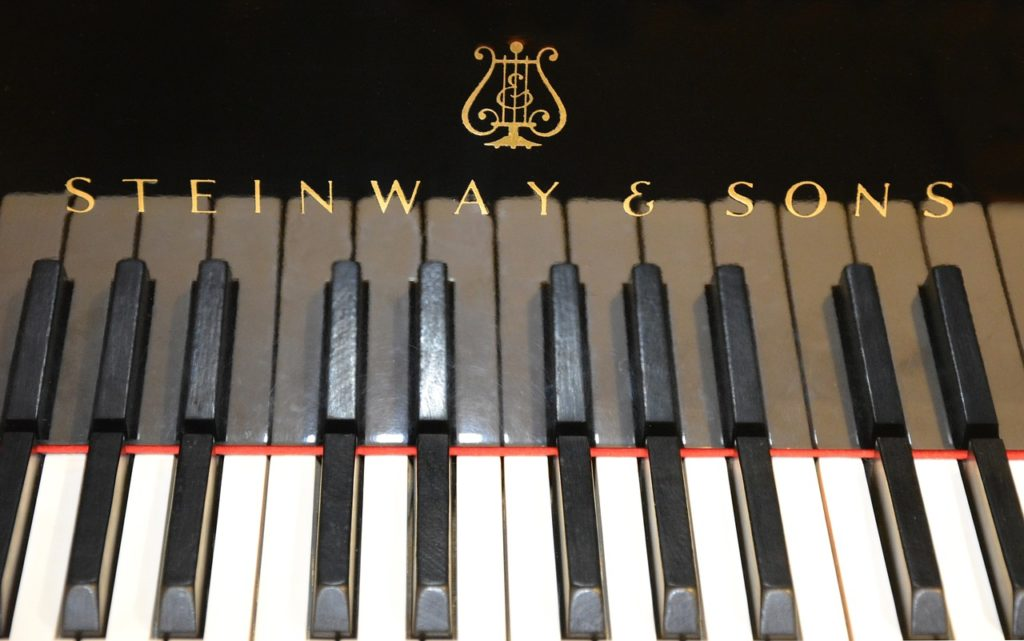 Steinway and Sons dashboard image
