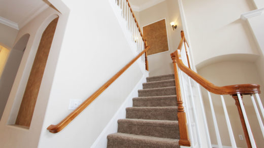 How to move a piano upstairs - image of stairs