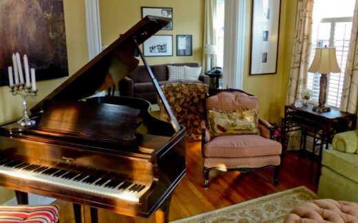 Grand Piano Placement in a Nice Sitting Room